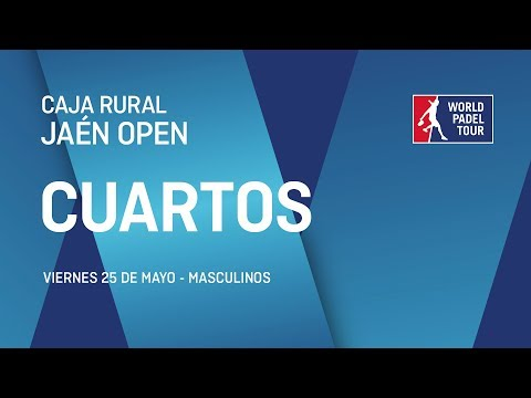 Cuartos de final masculinos - Caja Rural Jaén Open 2018 - World Padel Tour