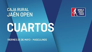 Cuartos de final masculinos Caja Rural Jan Open 2018 World Padel Tour