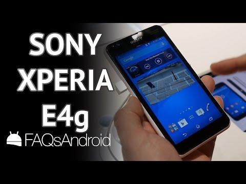 Sony Xperia E4g: un gama baja que marca la diferencia