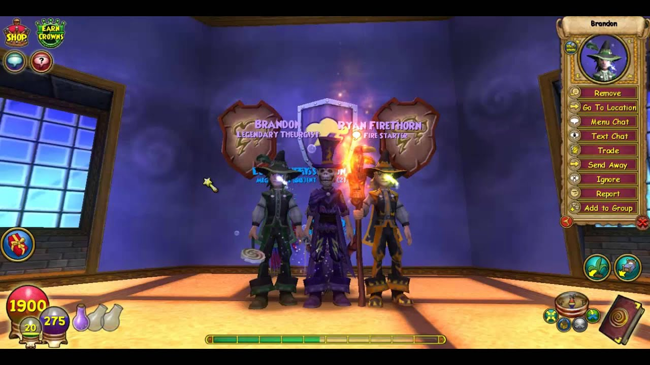 Wizard101 Deep Leviathan Level 98 Storm Pet Quest - Year of