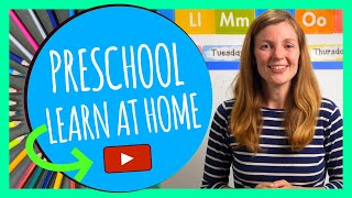 MON Preschool Learn At Home [ Whole Day Curriculum ] - Preschool Learning Videos Monday 10-19-20