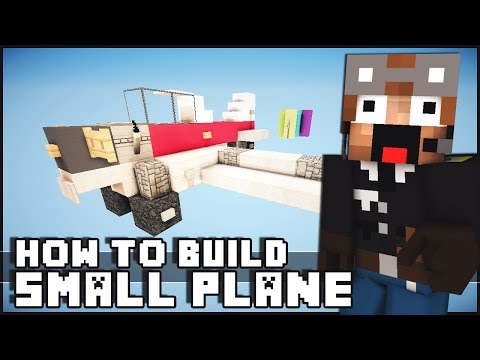 Minecraft Vehicle Tutorial - Small Plane