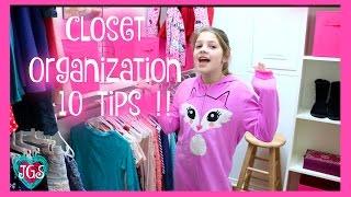 Closet Organization 10 Tips | Get Organized! | best friends