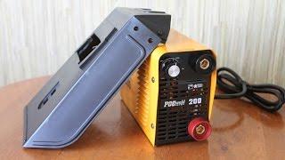 Самый маленький сварочный инвертор POCweld MMA-200 Profi | Обзор комплектации