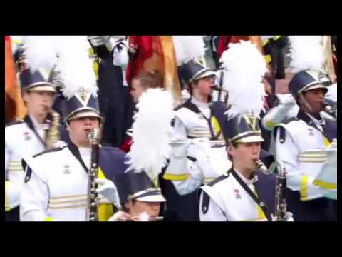 Walled Lake Central High School Viking Marching Band Macy's Parade 2015