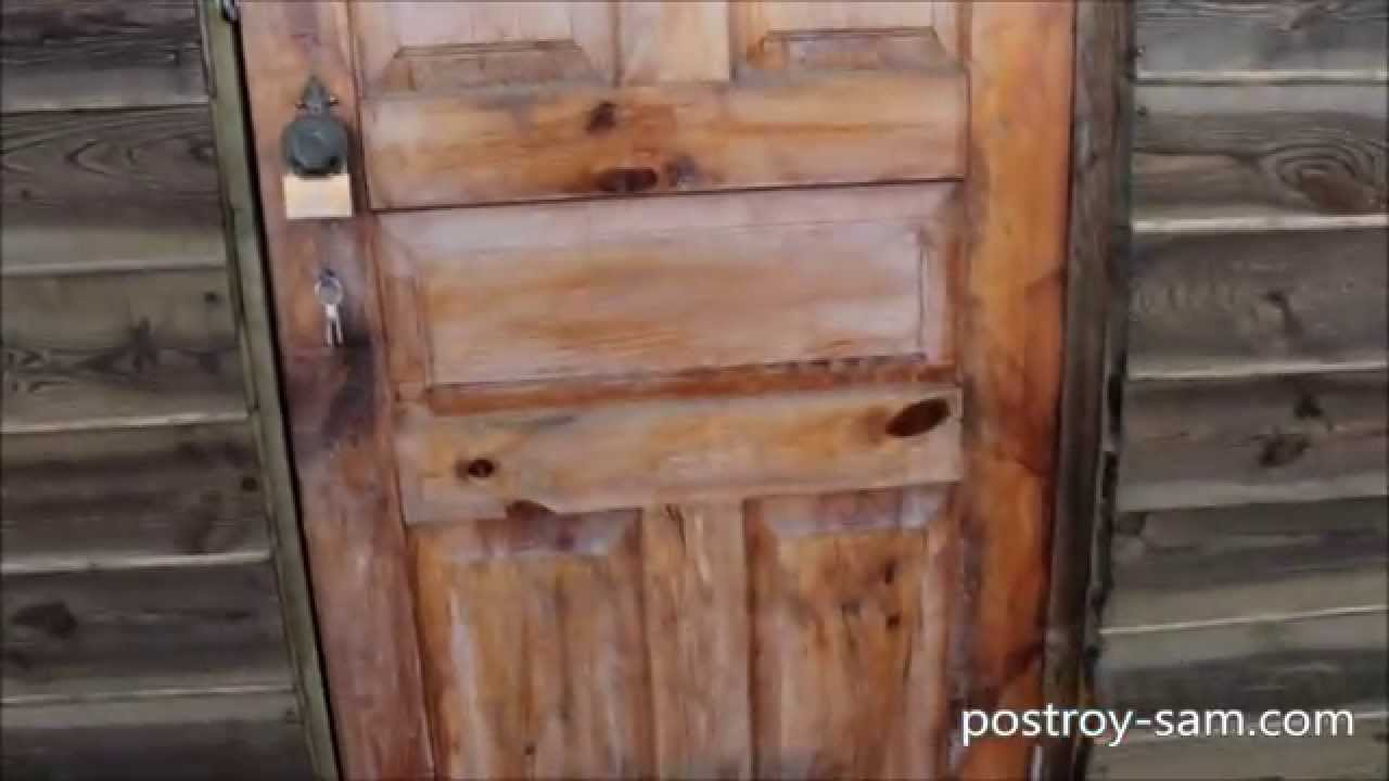 Как сделать дверь в сарай на даче своими руками 4