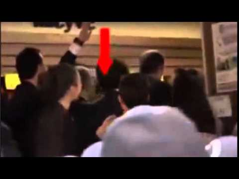 prime minister erdogan slapping to protester
