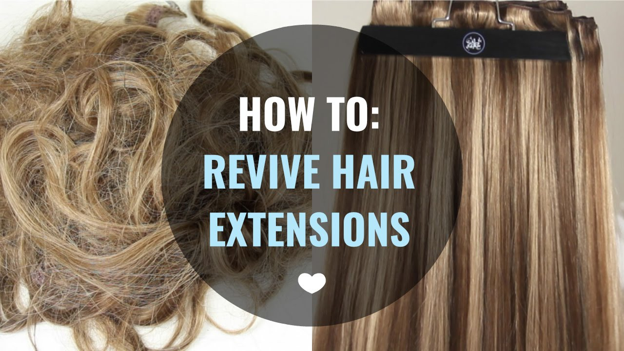 How To Revive Hair Extensions Zala Hair Extensions Youtube