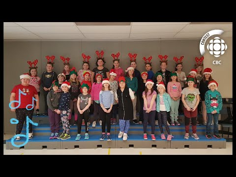"""Must Be Santa"" - Sussex Elementary School #CBCMusicClass"