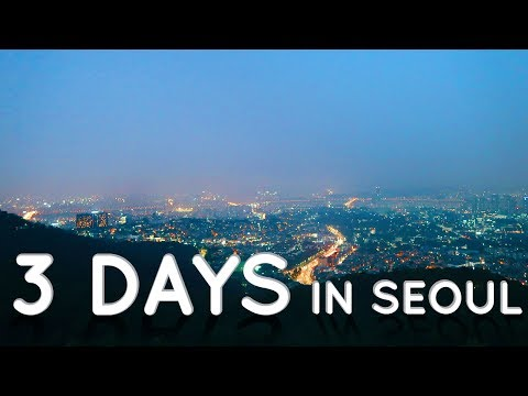 3 days in Seoul, South Korea - Visiting The N Seoul Tower | Travel Vlog Part 3/3