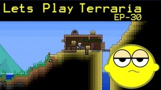 Lets Play Terraria EP-30 We Can Fly!