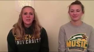 Mason Giving Day: Melissa Thompson ('15) and Meghan Brooks ('16)