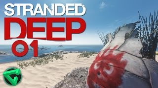 STRANDED DEEP: ¡TOWN EL NÁUFRAGO! - #1 | iTownGamePlay