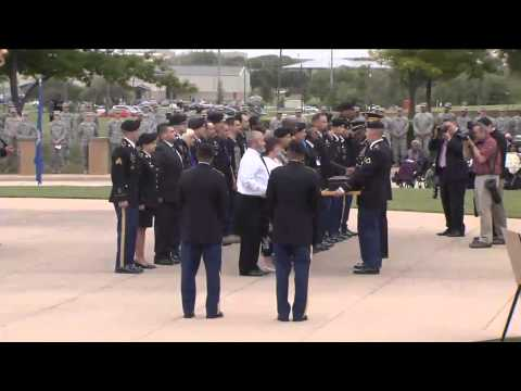Fort Hood Purple Heart Defense of Freedom Ceremony