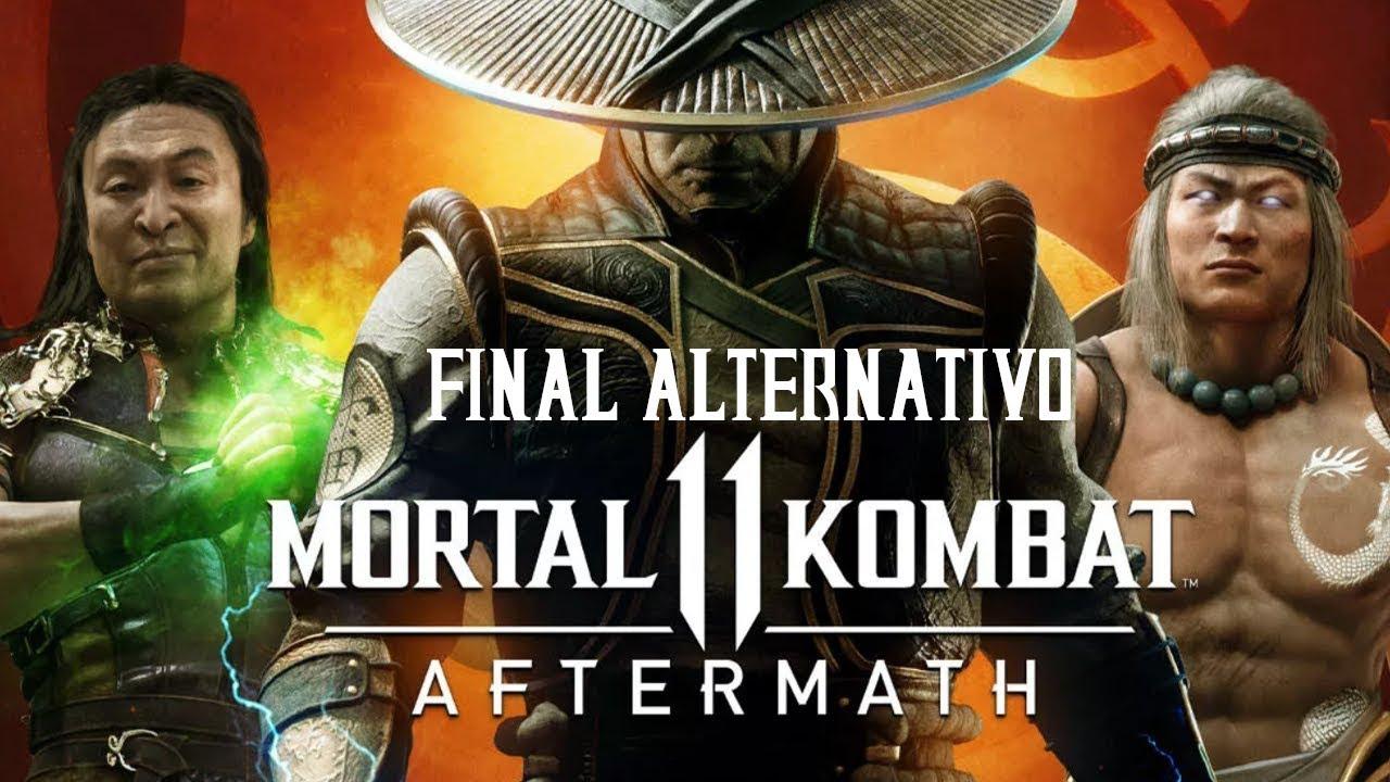Mortal Kombat 11 - Afthermath Final Alternativo