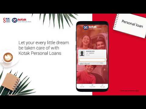 Book a Kotak Personal Loan in 3 min