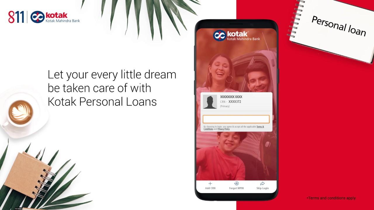 Book A Kotak Personal Loan In 3 Min Youtube