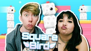SQUARE BIRD. (iPad Gameplay Video)