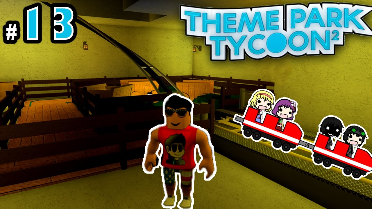 Repeat Theme Park Tycoon! Ep  13: SECRET UNDERGROUND RIDE | Roblox