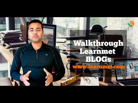 Learnmet Blogging System Walkthrough