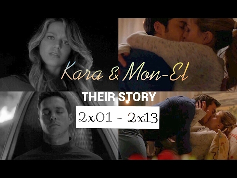 kara & mon-el | their FULL story (2x01-2x13)