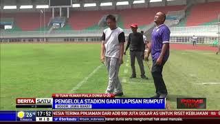 Stadion Pakansari Bogor Mulai Berbenah Untuk Piala Dunia U-20 2021