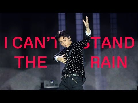 [4K] SuperM - I Can't Stand The Rain (Mark Focus) 191005