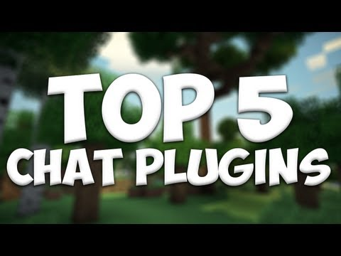 Minecraft Bukkit Plugins - Top 5 Chat Related Plugins