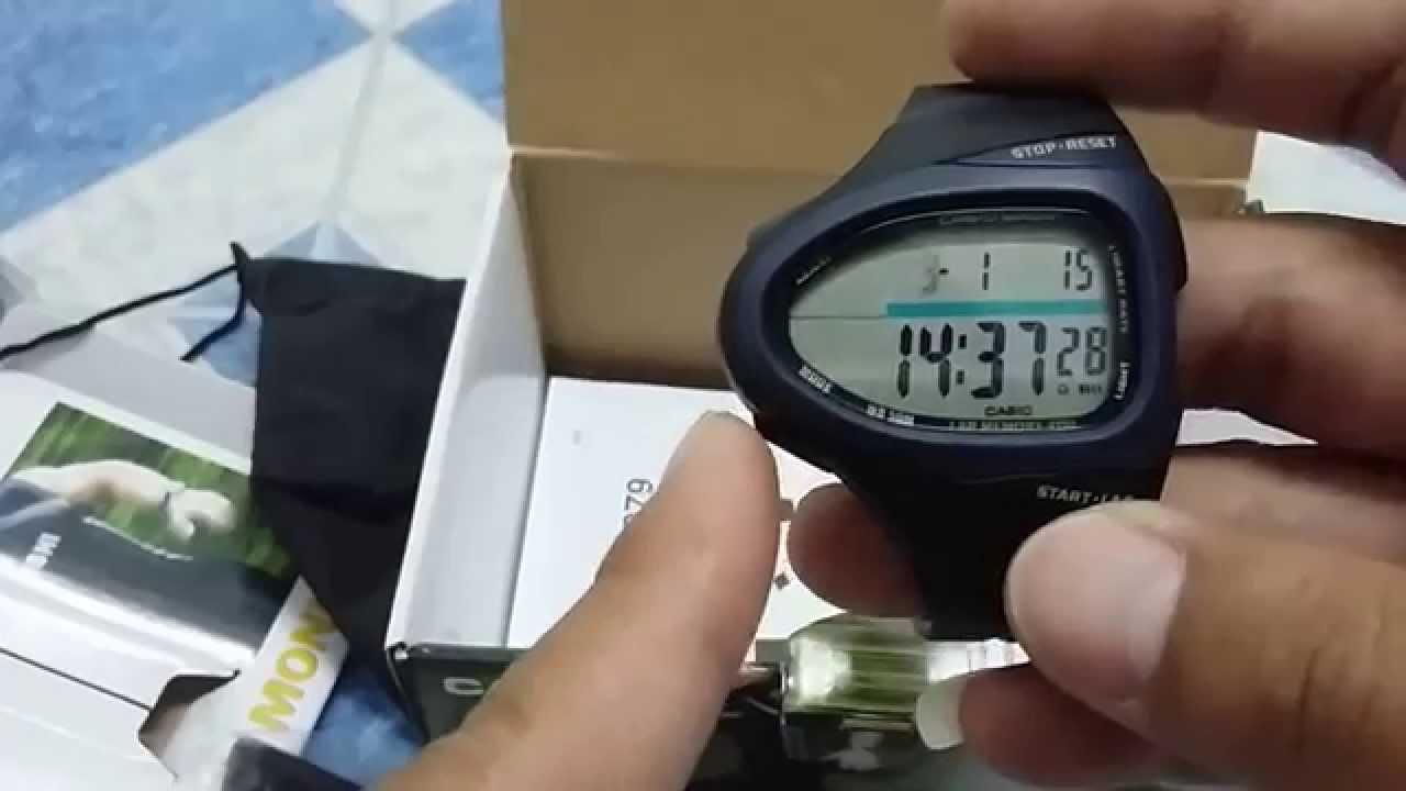 การตั้งค่านาฬิการุ่น CHR 100 1VER 1