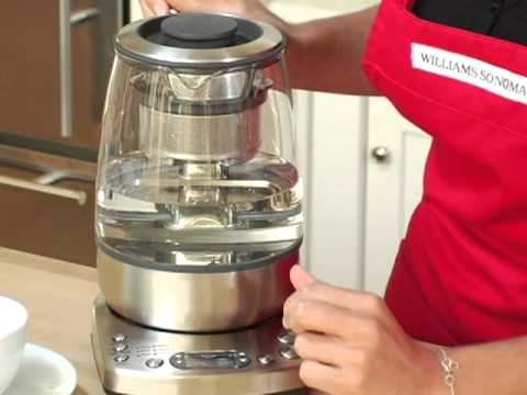 Breville One Touch Tea Maker Youtube