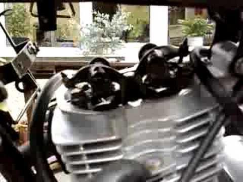 Chinese motorbike adjust valve clearance 3