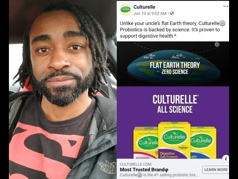 Flat Earther Calls Out Culturelle For FE Smear Ad thumbnail