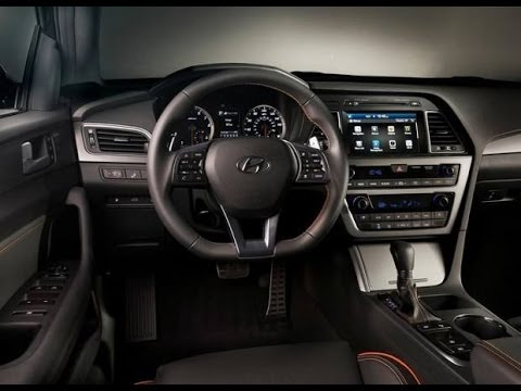Hyundai sonata interior 2015 youtube - 2015 hyundai sonata interior pictures ...