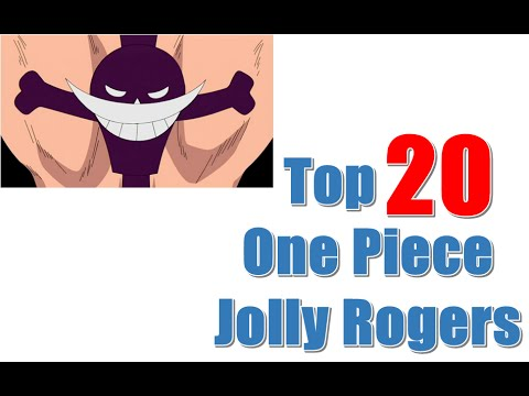 Top 20 One Piece Jolly Rogers [Pirate Flags]