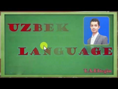 Learning Uzbek Language---Uzbek alphabet