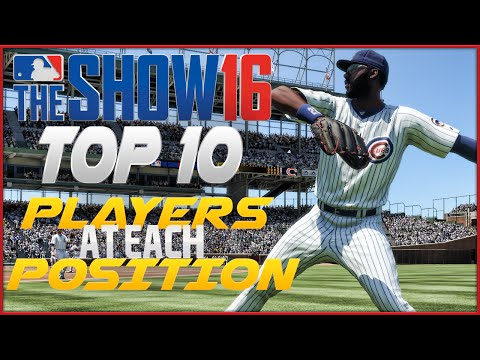 MLB The Show 16 Top 10 Players & Legends At Each Position!