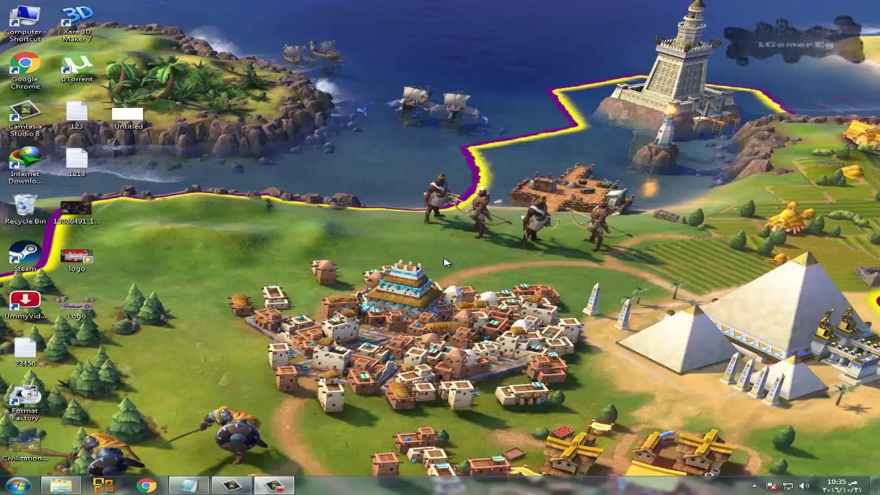 تحميل لعبة sid meiers civilization vi كاملة dlc unlocker