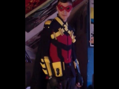 & How to make A Red Robin-Teen Titans Costume - YouTube