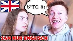 24H nur ENGLISCH reden mit FREUNDIN 😱🏴