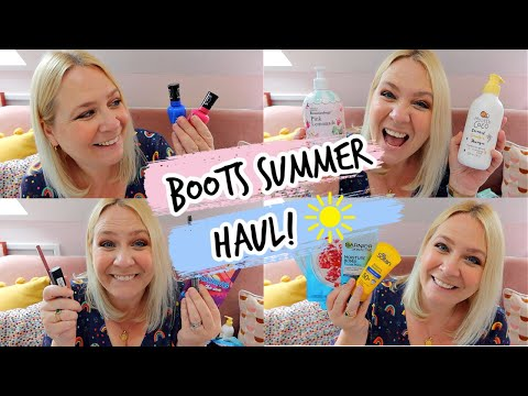 BOOTS SUMMER HAUL   New Make Up & More! ☀️