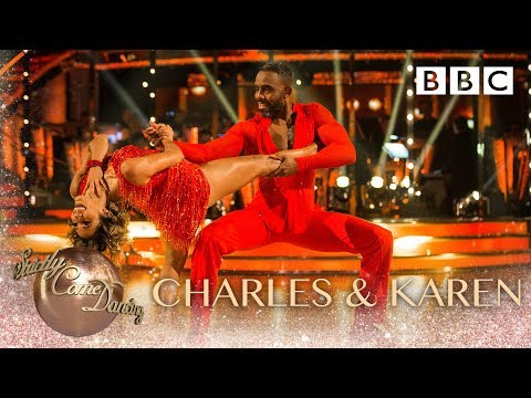 Charles & Karen dance the Cha Cha to Ain't No Love (Ain't No Use) - BBC Strictly 2018