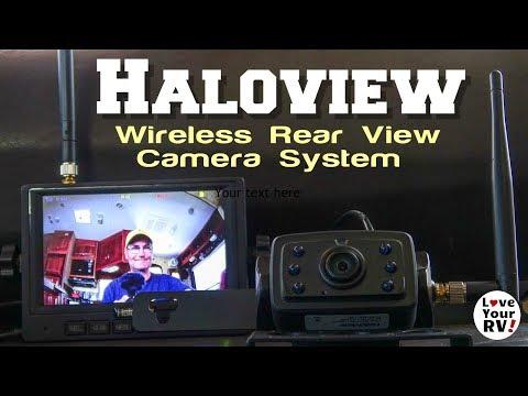 Wireless RV Rear View Camera Review (Haloview Model MC5111)