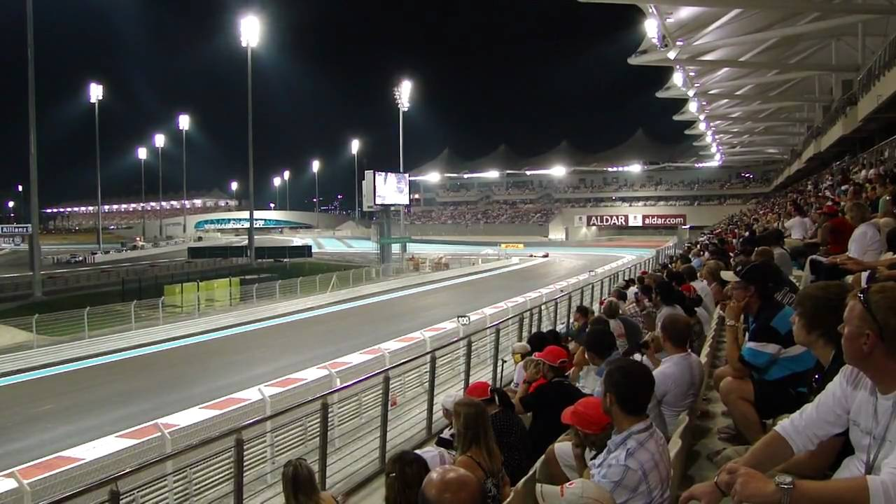 yas marina circuit west grandstand youtube. Black Bedroom Furniture Sets. Home Design Ideas