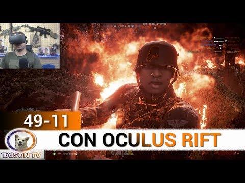BATTLEFIELD 1 EN REALIDAD VIRTUAL 49-11 EN EL BOSQUE - OCULUS RIFT