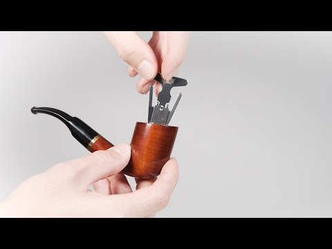 Stainless Steel Tobacco Pipe Reamer Tool - Clean Excess Cake