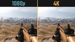 Call of duty warzone 4k 2160p vs. 1080p (performance and graphics comparison) resolution: 3840x2160 1920x1080. ● gpu: msi geforce rtx 2070 super gaming x...