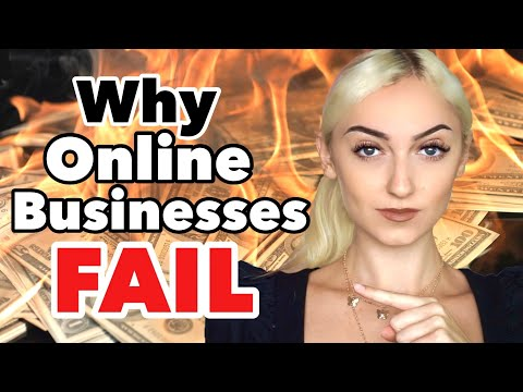 3 Reasons Why Online Businesses Fail + How To Avoid Them!