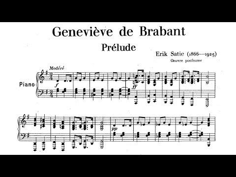 Erik Satie ~1900~ Geneviève de Brabant
