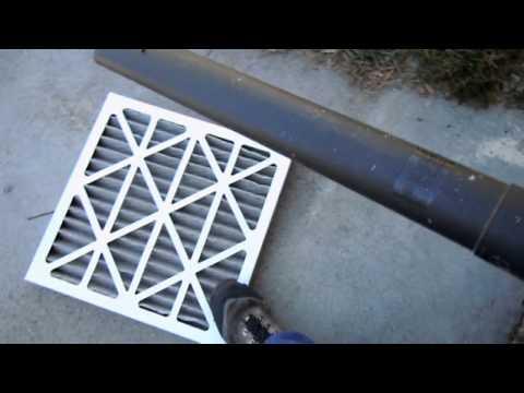 HVAC air handler maintenance