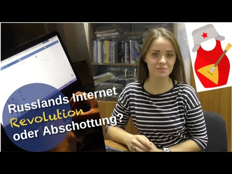 Russlands Internet: Revolution oder Abriegelung?